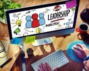 Businessman Leadership Management Digital Communication Manage C
